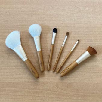 匠の技 「熊野筆メイクアップブラシシリーズ」 ハウスオブローゼオリジナル