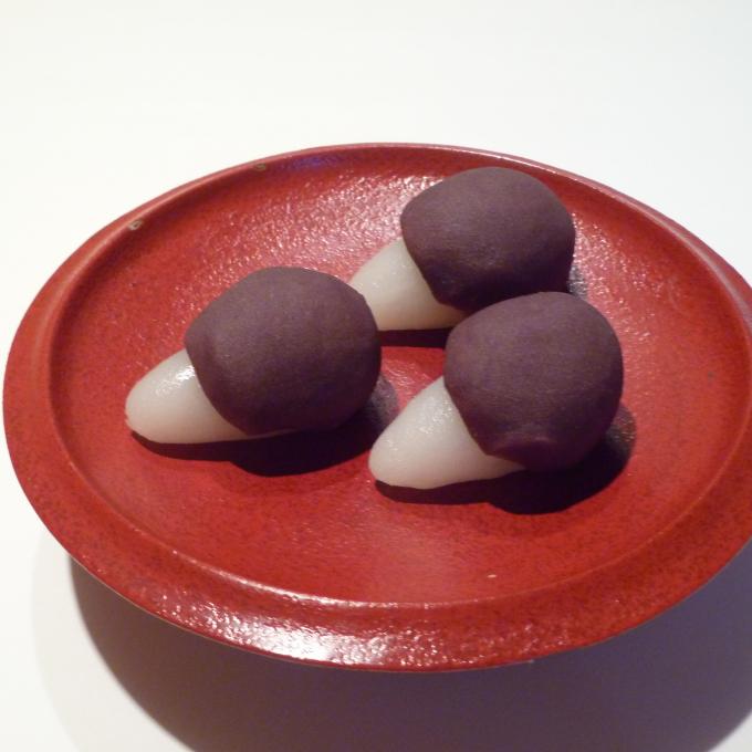 <老松>生菓子 月見だんご