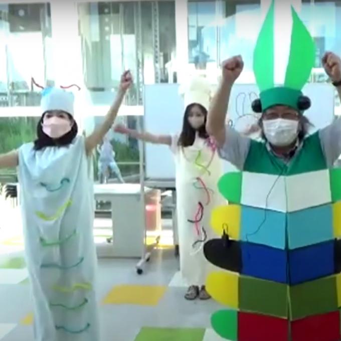 「アノマロカリスと遊ぼう!」実施レポート 松坂屋小学校 第11回キッズサイエンス