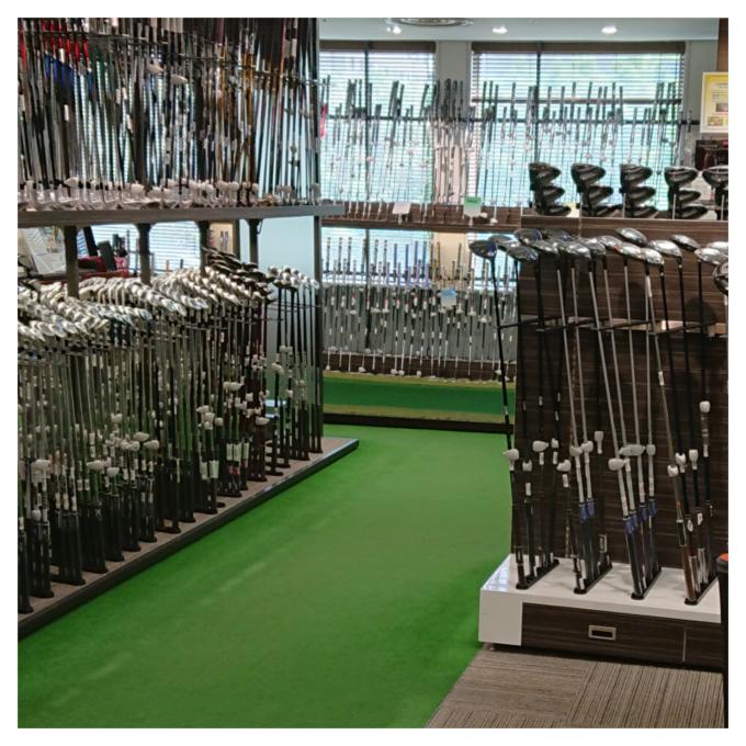 ゴルフギアコーナー