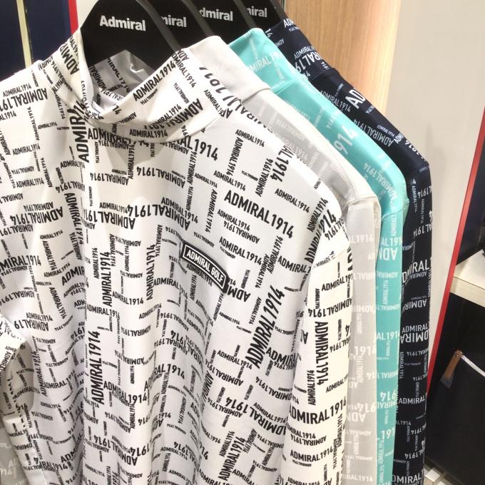 大人気❗️ロゴチェックハイネック長袖シャツ