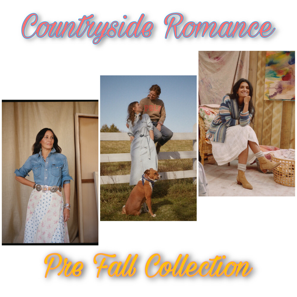 Countryside Romance -Pre Fall Collection-