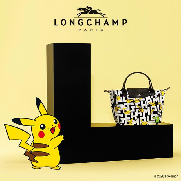 【再入荷!!】Longchamp x Pokémon (ロンシャンx ポケモン)