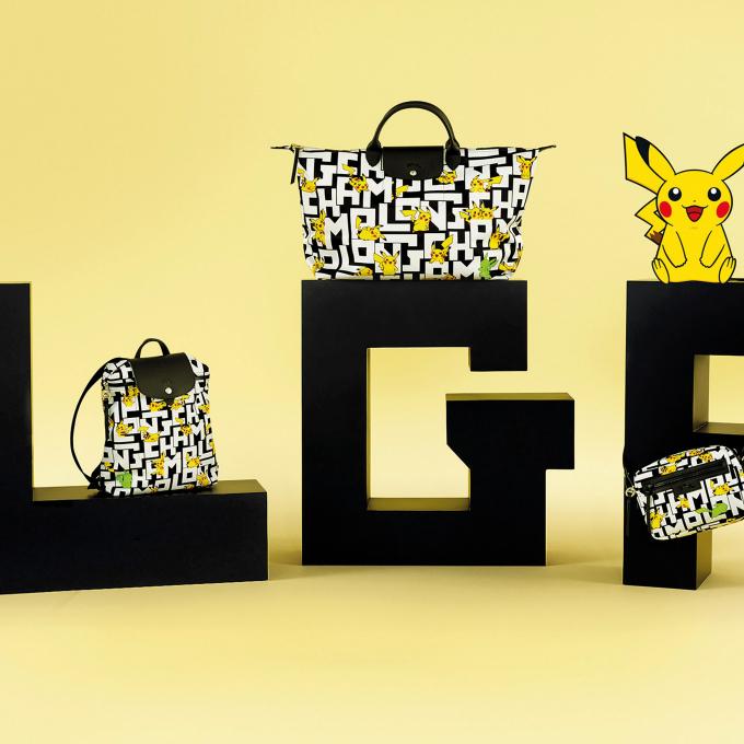 Longchamp x Pokémon (ロンシャンx ポケモン)LGPコレクション