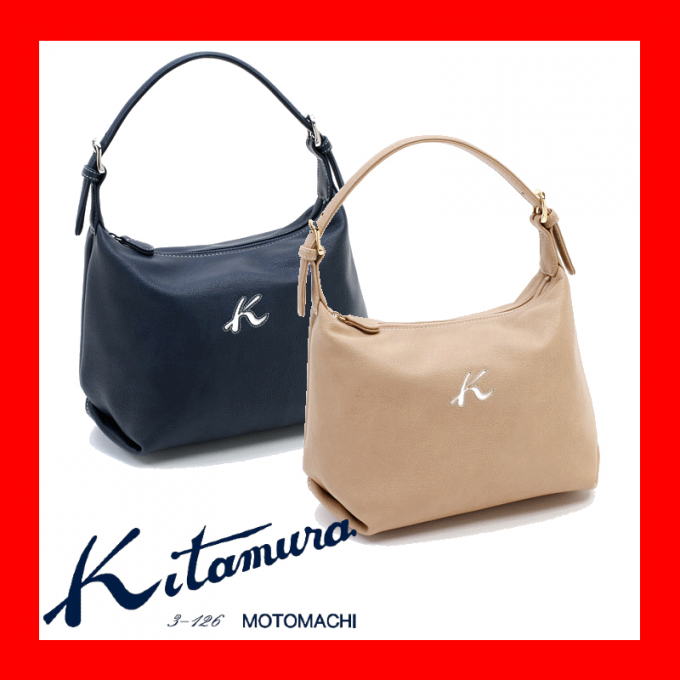 【キタムラ】軽量で、雨の日も気兼ねなくお使いいただける♪2wayセミショルダーバッグ