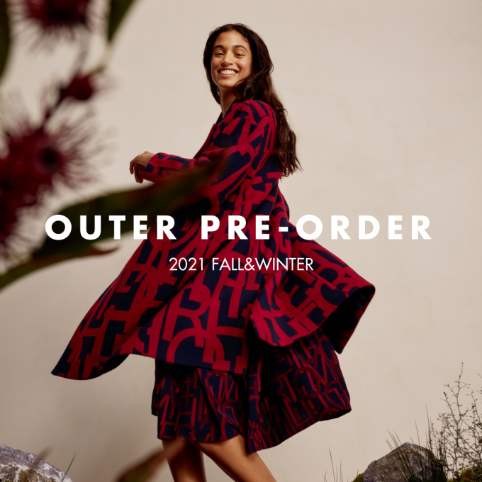 2021 FALL&WINTER OUTER PRE-ORDER