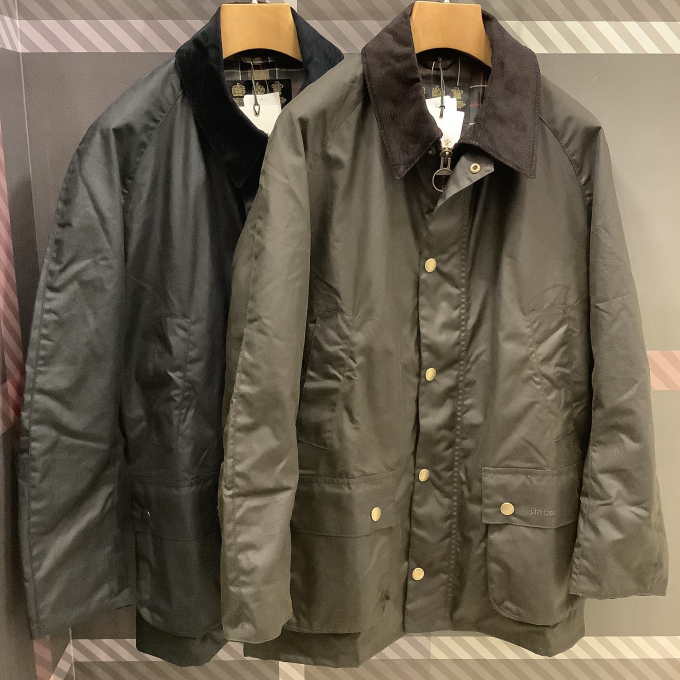 【barbour】百貨店限定モデル ASHBY