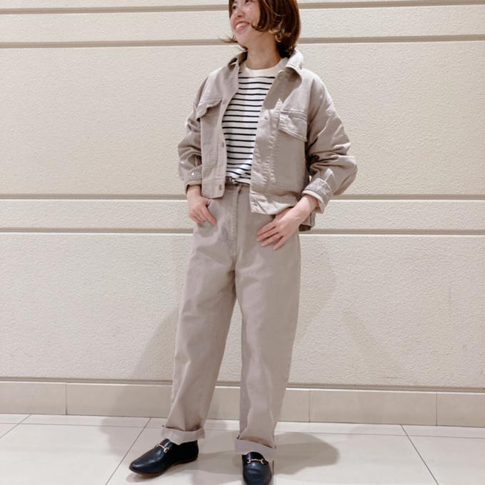 【ハッピープラス】秋の気分をいち早く!ニュアンスカラーのジャケット&パンツ