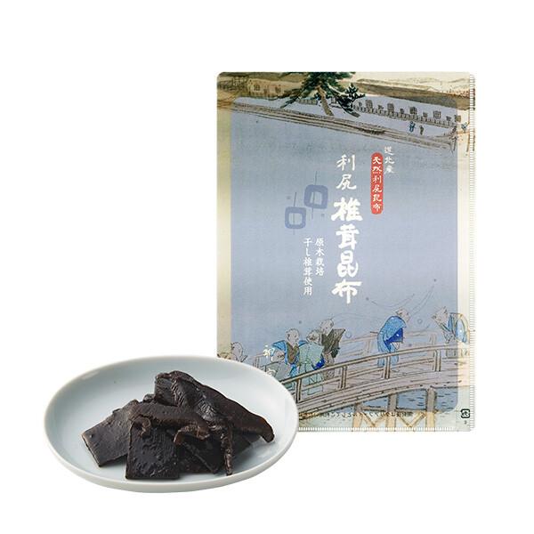 国産原木栽培干し椎茸使用【利尻椎茸昆布】