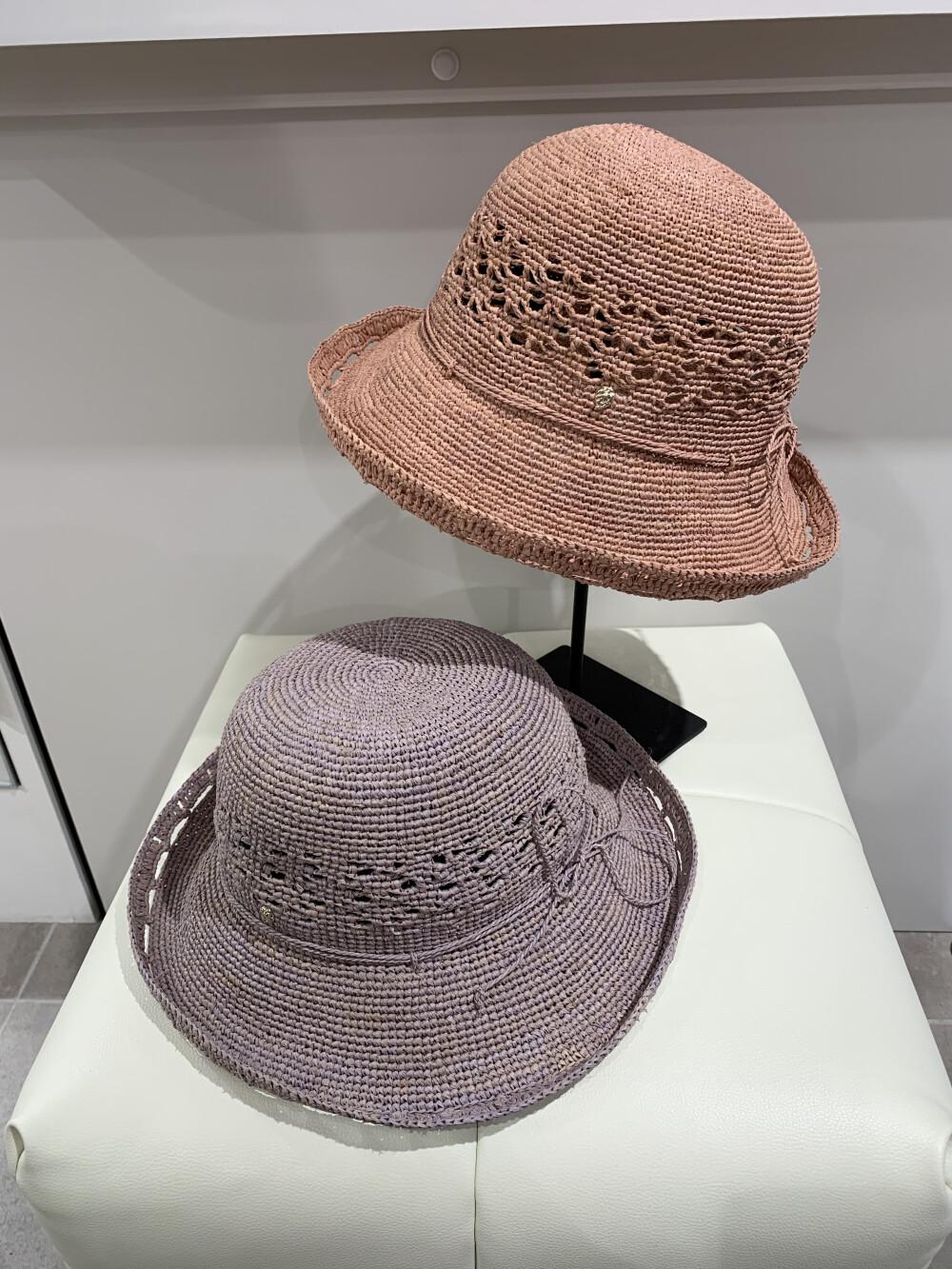 レースパターンが魅力の帽子【HELEN KAMINSKI】