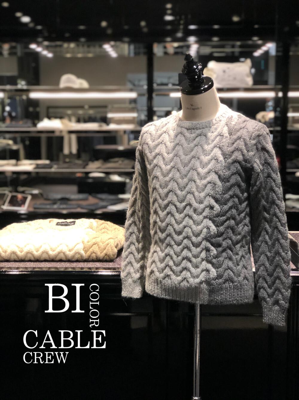 新作情報【BI COLOR CABLE CREW】
