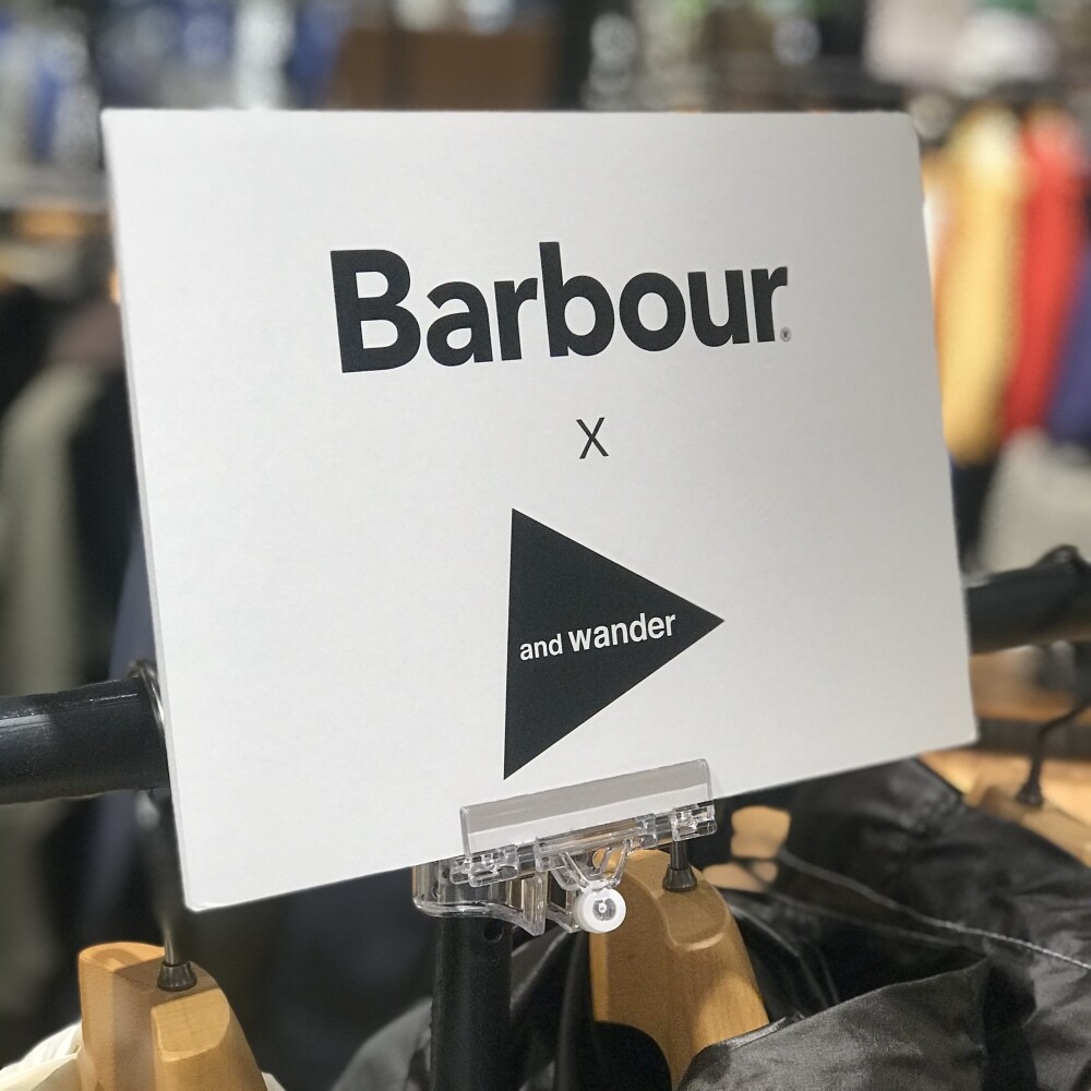 Barbour × and wander #18