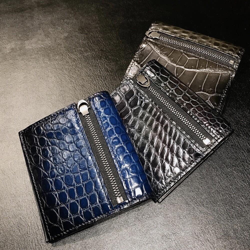 NEW・cobweb薄型二つ折り財布