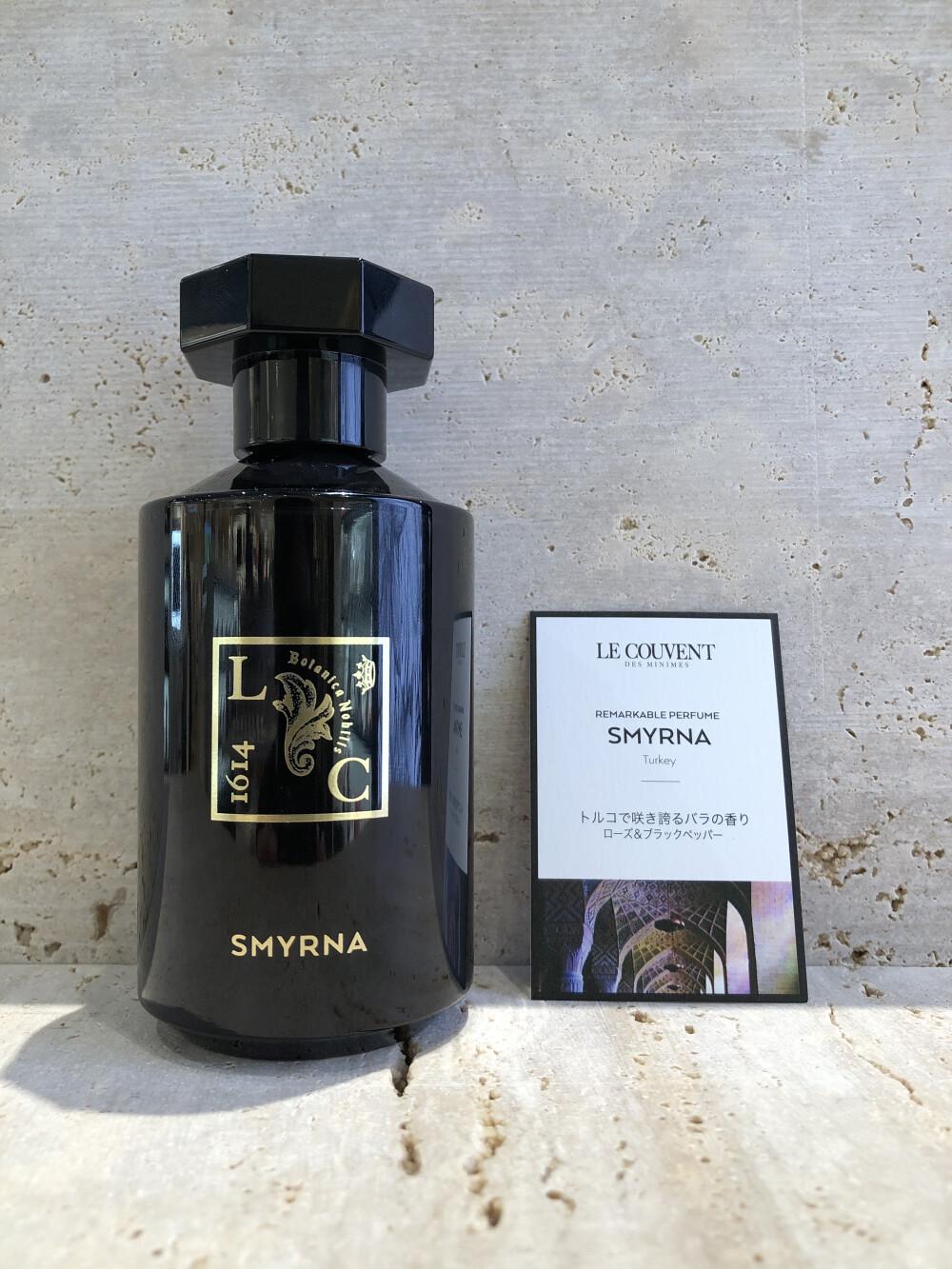SMYRNA〈スミルナ〉〜ローズ&ブラックペッパーの香り〜