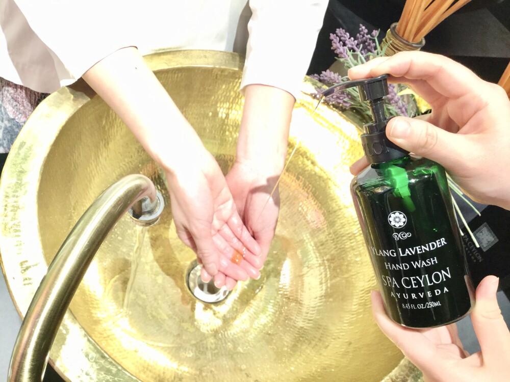 洗うたびみずみずしい手肌へ
