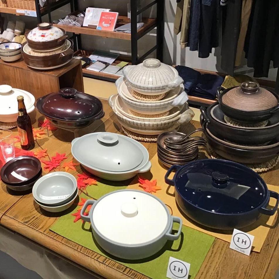 【綱具屋】サンマ皿・土鍋・ごはん鍋の取り扱い始まってます!