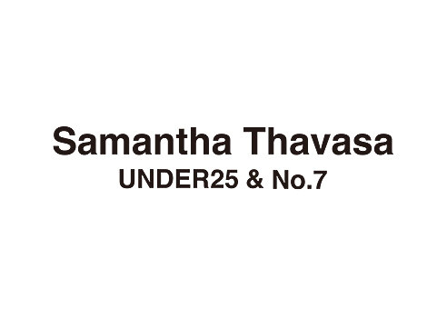 サマンサタバサUNDER25&No.7