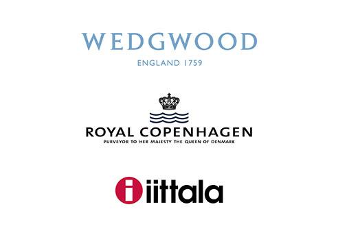 WEDGWOOD |ROYAL COPENHAGEN|iittala