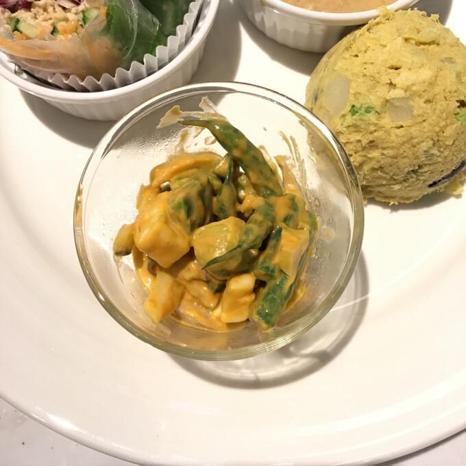 【新メニュー!】ソイウニと豆乳チーズの山葵醤油マリネ