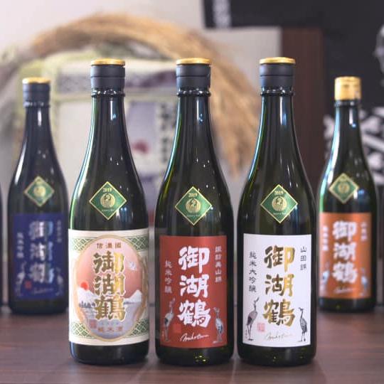 長野県御湖鶴酒造場 関西初入荷販売