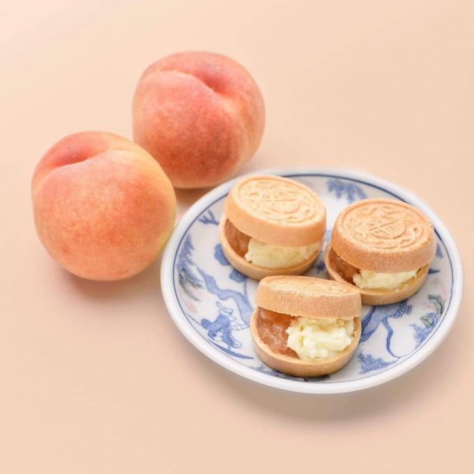 7月からは桃です。