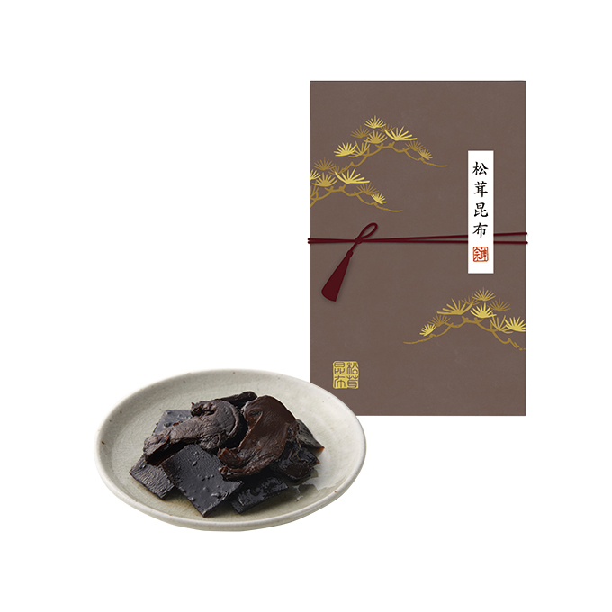 秋の味覚を味わう【松茸昆布】