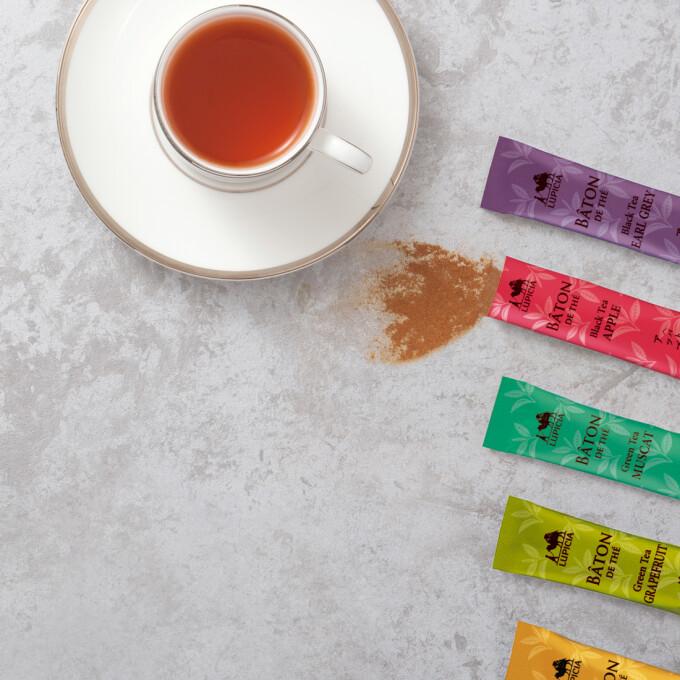 プチギフトにおすすめ 手軽に楽しめる粉末タイプのお茶