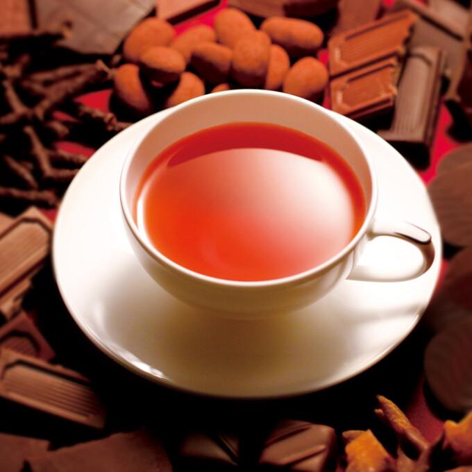 甘く香るチョコレートの紅茶