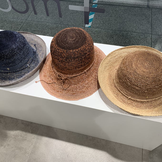 【HELEN KAMINSKI】濃淡が素敵な帽子です!