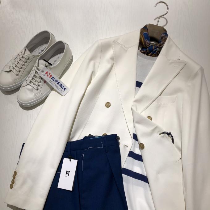 CIRCOLO1901 ホワイトジャケット