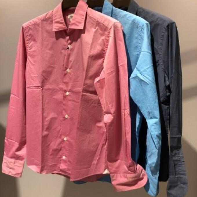 GIANNETTO カラーシャツ