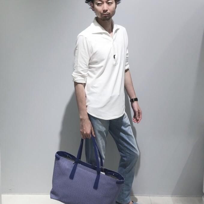 パイルプルオーバーシャツ