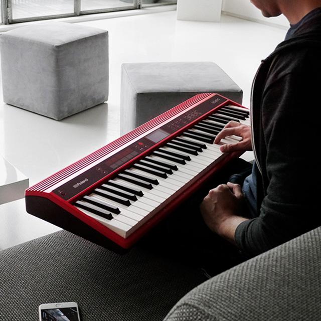 気楽に楽しめるシンセサイザー「Roland エントリーキーボード GO:KEYS」