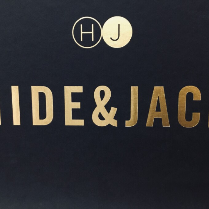 【HIDE & JACK】POP UP 開催!