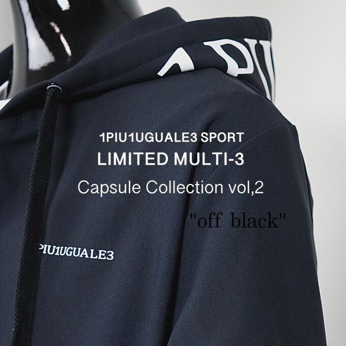 "LIMITED MULTI-3 vol,2 "" off-black """