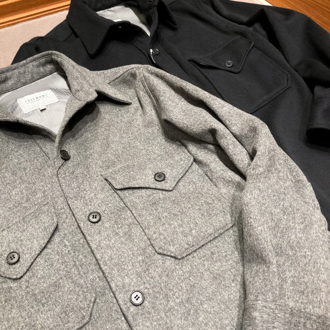 "FSC ""WOOL CPO JACKET"""
