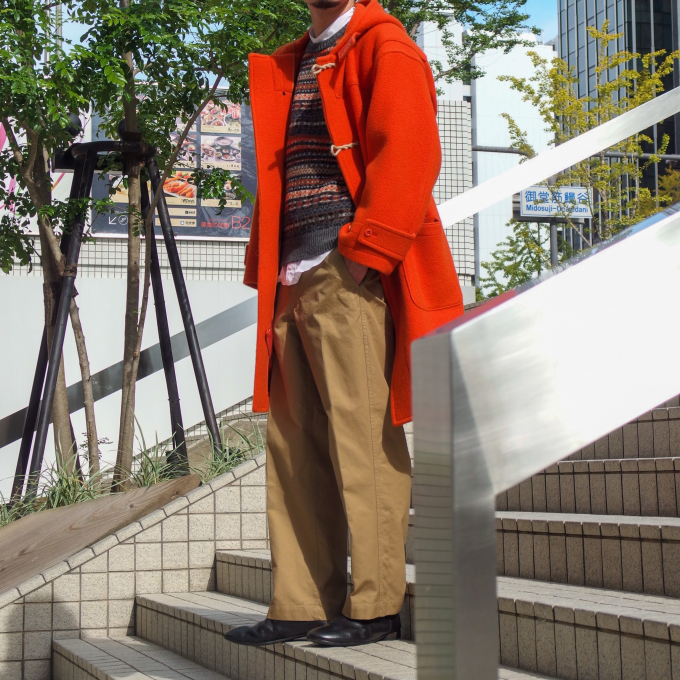 "STAFF STYLE Kaptain Sunshine "" Duffel coat """