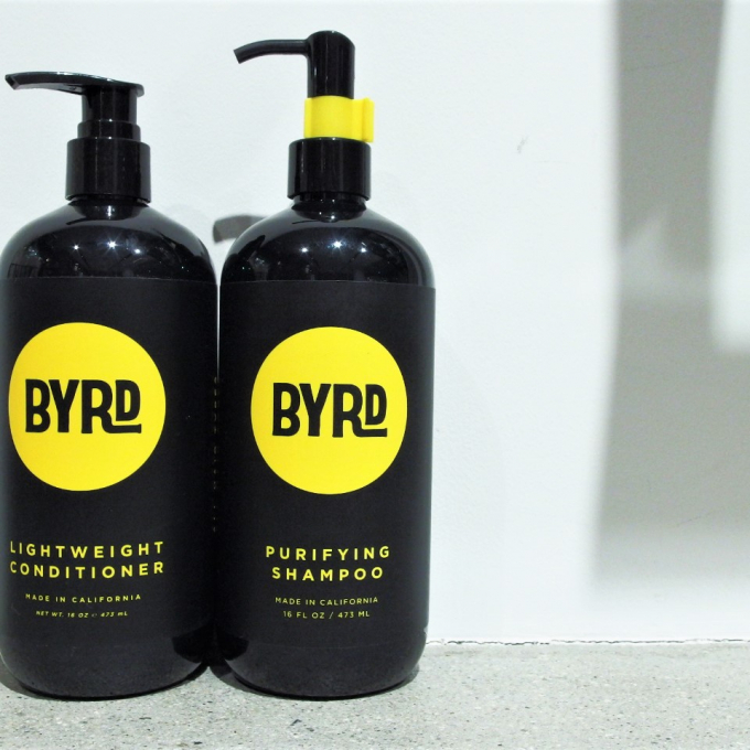 Men's hair Care - BYRD shampoo&conditioner-