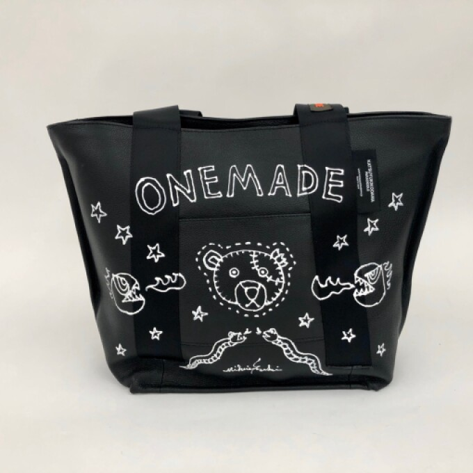 ONEMADEコラボレーションのトートバッグ