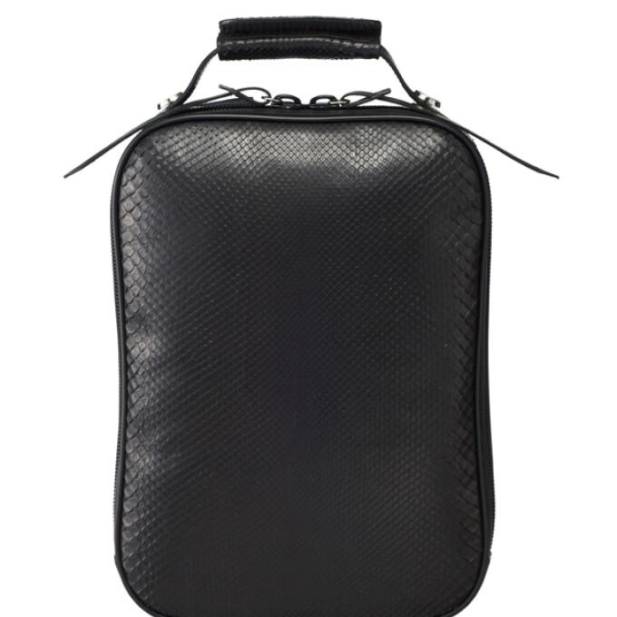 ダイヤモンドパイソンの3wayバッグ