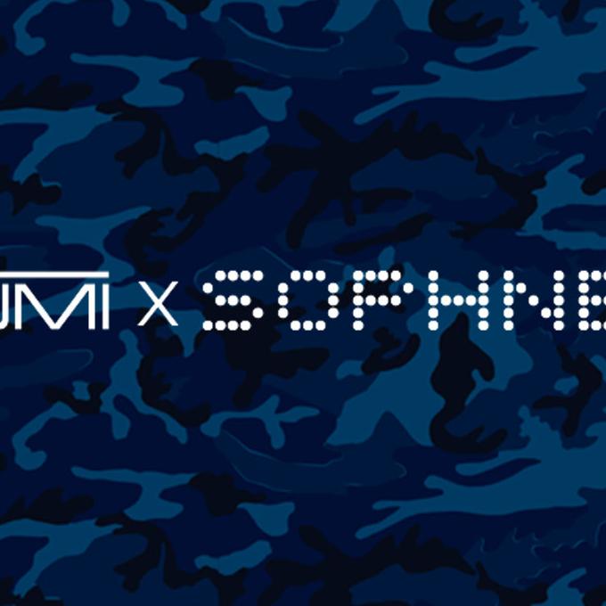 NEW | TUMI × SOPHNET. コラボコレクション