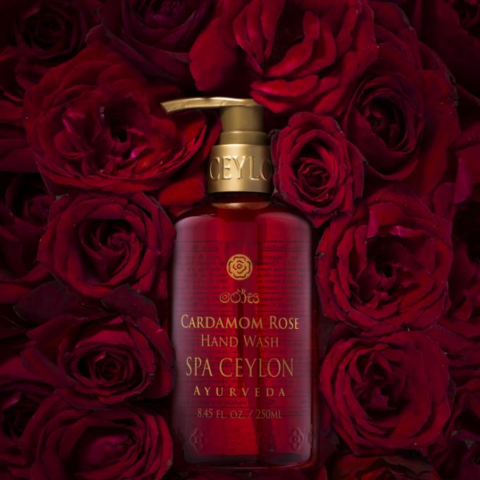 心を満たすバラの香りのハンドウオッシュ