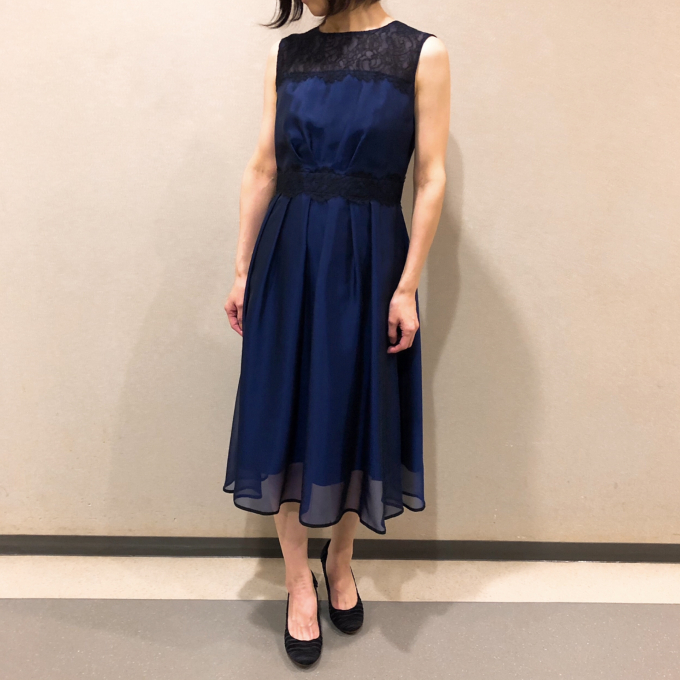 【幸福の色】BLUEドレス
