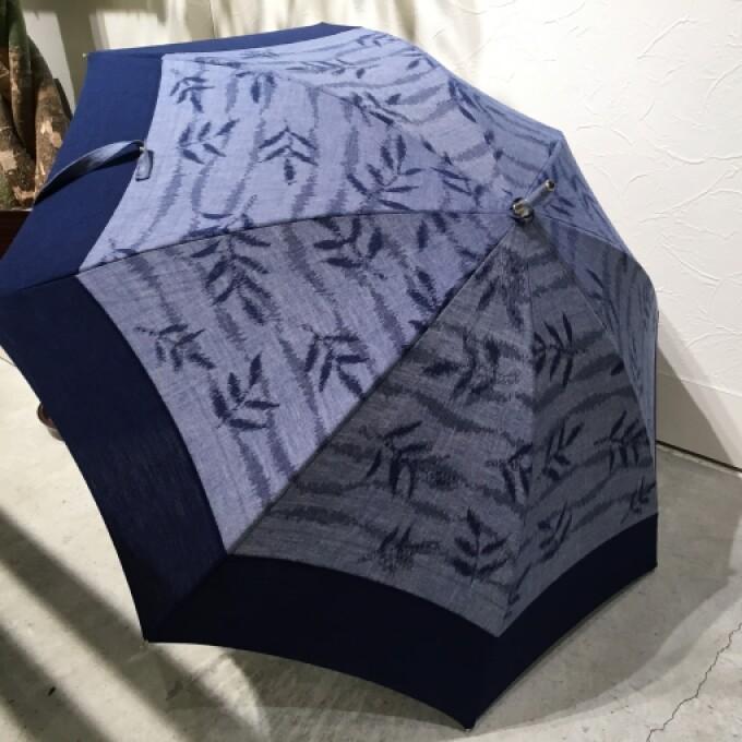 久留米絣の日傘が入荷しました!
