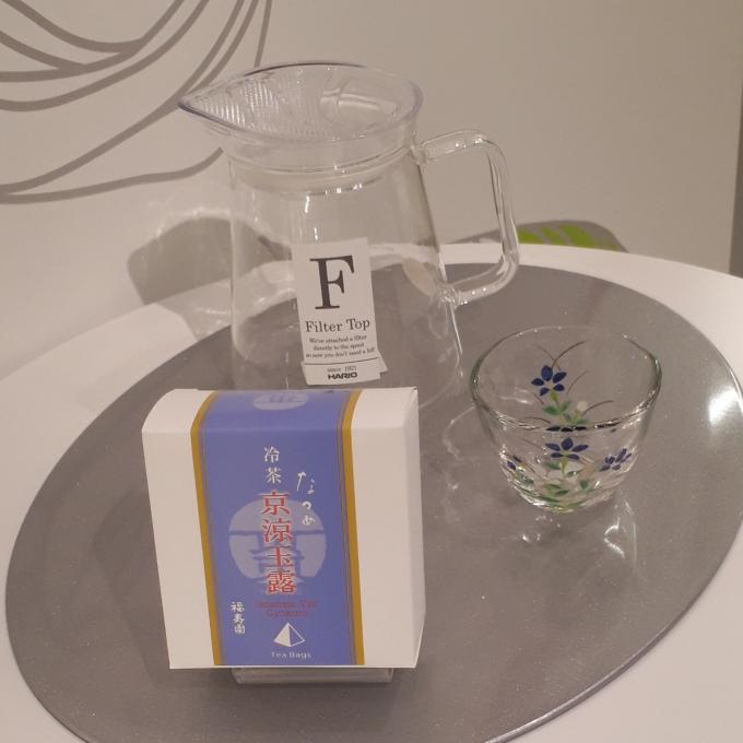 お水出しで楽しむ冷茶🎐