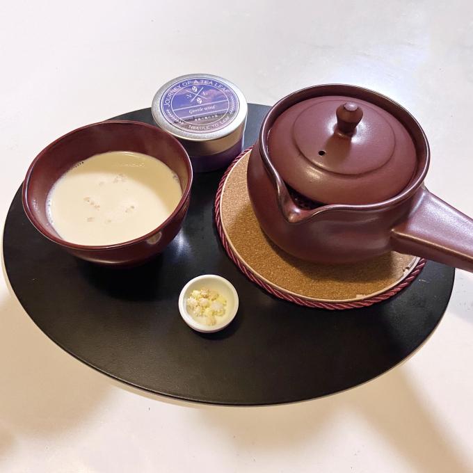 ほっこり温まる◎ほうじ茶ラテの作り方