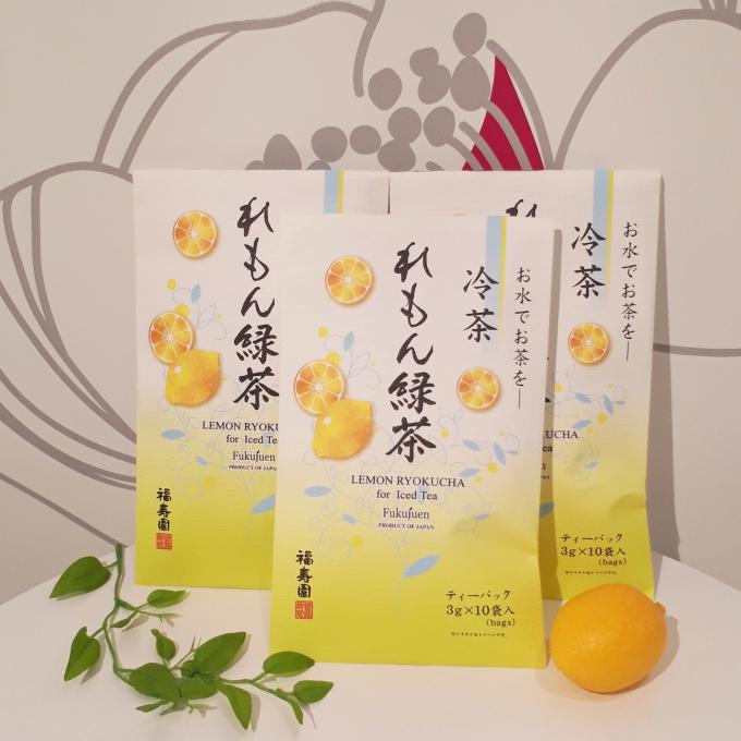 爽やかなレモンのお茶🍋蚊帳ふきんプレゼント中♪