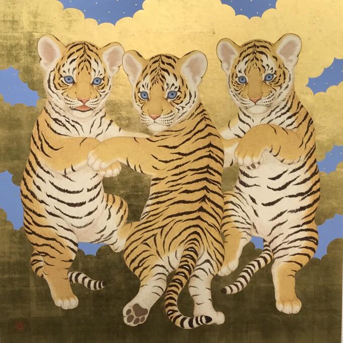 6月2日(火)まで期間限定開催「アニマル・ショウ~動物たちの誘惑~ 丸山友紀日本画展」
