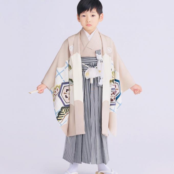 七五三子供きものご紹介(5歳男児編)