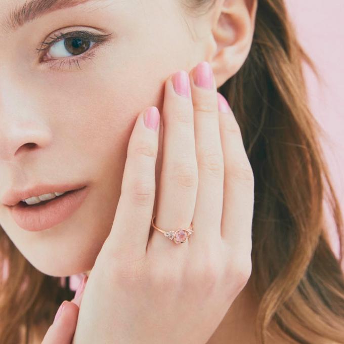 桜咲く。一瞬の美しさをジュエリーに